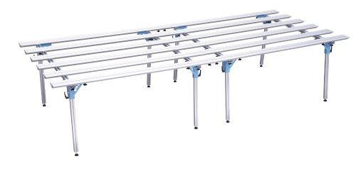SIGMA hliníkový pracovní stůl, 150 cm, 180 cm