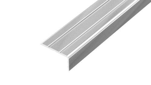 AP5 schodová lišta samolepící ACARA, hliník elox stříbro, 10 mm, 2,7 m