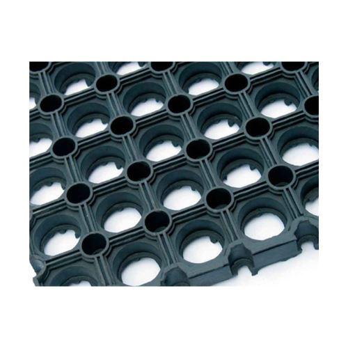 GUMOVÁ ROHOŽ rohož gumová plásty černá, 23 mm, 150 cm, 100 cm
