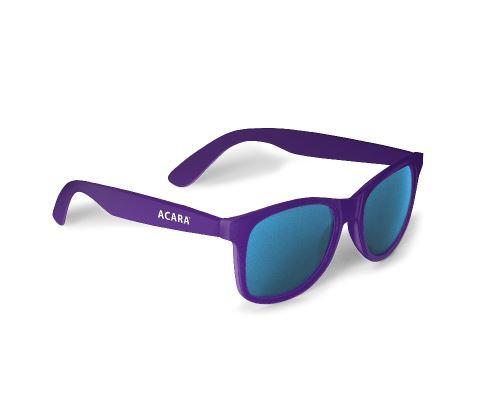 ACARA sluneční brýle s UV filtrem fialová