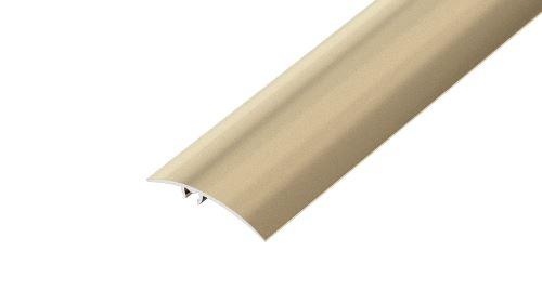 AP16/1 přechodová lišta narážecí ACARA, hliník elox stříbro, 50 mm, 2,7 m
