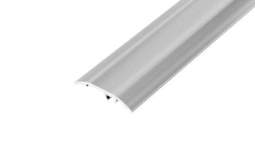 AP4/5 přechodová lišta DUAL FIX, hliník elox stříbro, 37 mm, 1,8 m