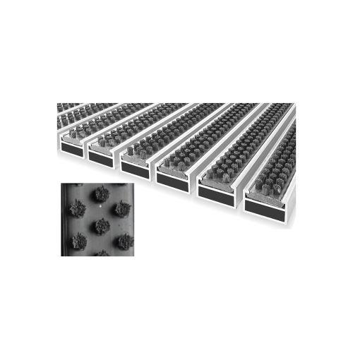ACARA CB rohož s kartáčovou vložkou šedá, 12 mm, 9,5 mm