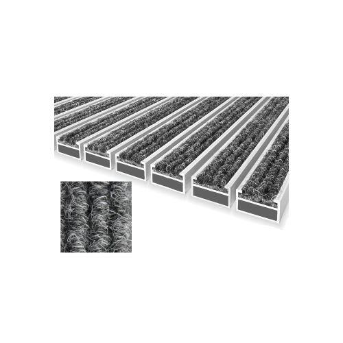 ACARA R rohož s textilní vložkou šedá, 12 mm, 9,5 mm