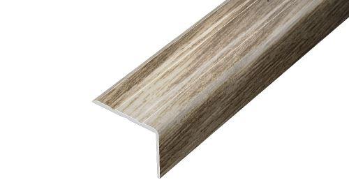 AP5 schodová lišta samolepící ACARA, hliník + fólie dub, 10 mm, 2,7 m