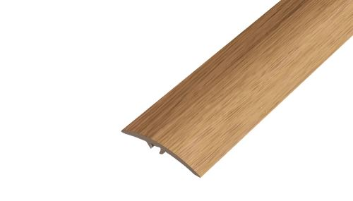 AP19 přechodová lišta s trnem samolepící ACARA, PVC dub bílý, 30 mm, 1,8 m
