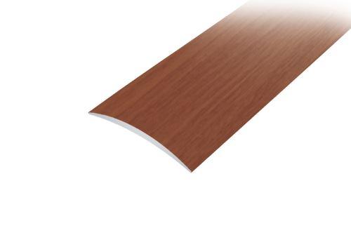 AP1 přechodová lišta samolepící ACARA, hliník + dýha nelakovaná dub, 30 mm, 2,7 m