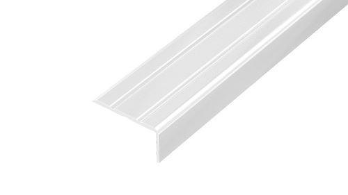 AP5 schodová lišta samolepící ACARA, hliník komaxit bílá, 10 mm, 2,6 m