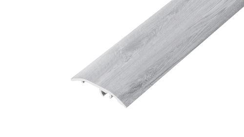 AP4/5 přechodová lišta DUAL FIX, hliník, Dub skandinávský, 37 mm, 1,8 m