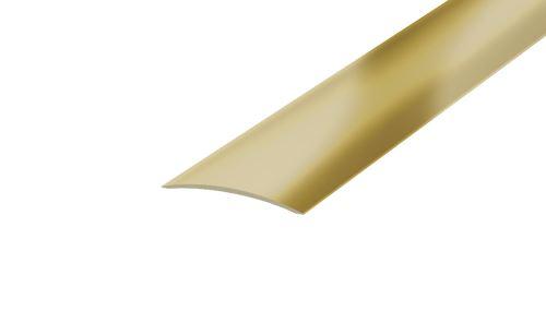 AP17 přechodová lišta samolepící ATYP ACARA, mosaz, 30 mm, 2,7 m