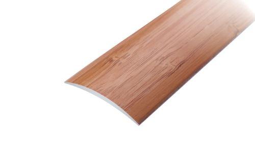 AP1 přechodová lišta samolepící ACARA, hliník + dýha lakovaná dub, 30 mm, 2,7 m