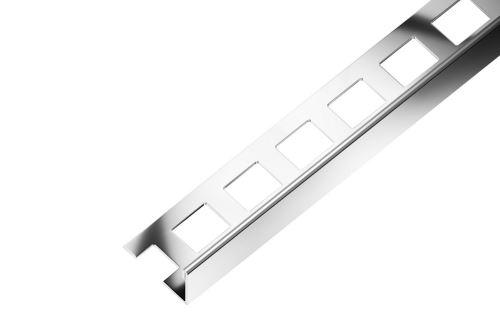 SP1 ukončovací lišta L ACARA, nerez V2A, 2 mm, 2,5 m