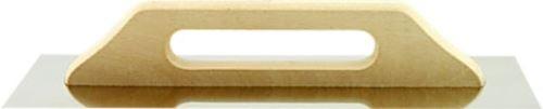 Hladítko rovné standard 580x130mm, síla plechu 0, 8mm,