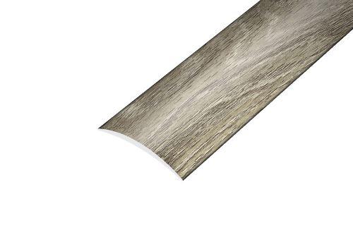 AP4 přechodová lišta samolepící ACARA, hliník + fólie dub, 30 mm, 2,7 m
