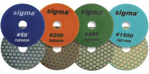 SIGMA diamantový brusný kotouč 50-zrnitost, pro hrubování, průměr: 100 mm