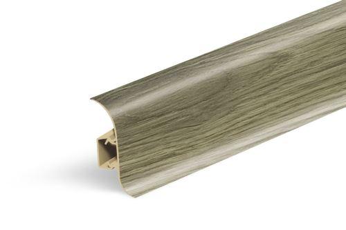 AP28 soklová lišta NGF56, PVC bílá, 56 mm, 23 mm, 2,5 m