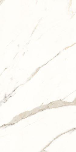 Dlažba TRILOGY soft calacatta white 50x100 cm, 5,5 mm