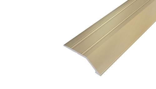 AP6 nájezdová lišta samolepící ACARA, hliník elox stříbro, 8 mm, 2,7 m