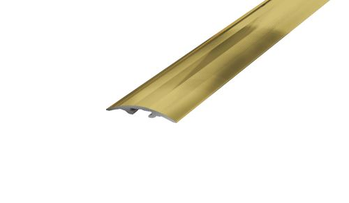 AP4/2 přechodová lišta narážecí ACARA, hliník elox stříbro, 33 mm, 2,7 m