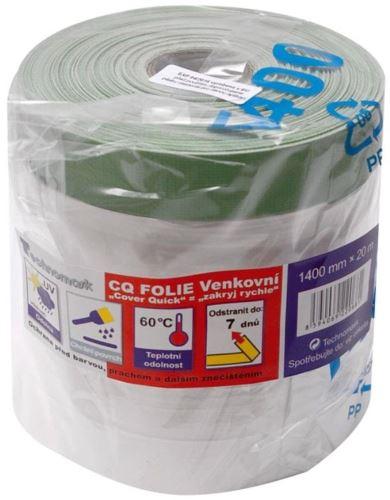 Fólie zakrýv.s páskou venkovní 20mx1100m