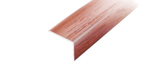 AP2 schodová lišta samolepící ACARA, hliník + dýha nelakovaná dub, 10x25 mm, 2,7 m