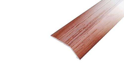 AP3 nájezdová lišta samolepící ACARA, hliník + dýha nelakovaná dub, 8 mm, 2,7 m