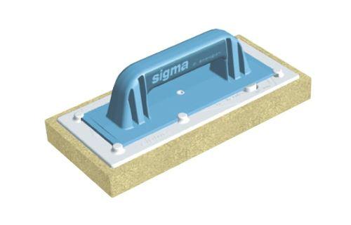SIGMA stěrka s vysoce absorpční houbičkou s řezy, 3 cm, 14 cm, 30 cm, 15 ks