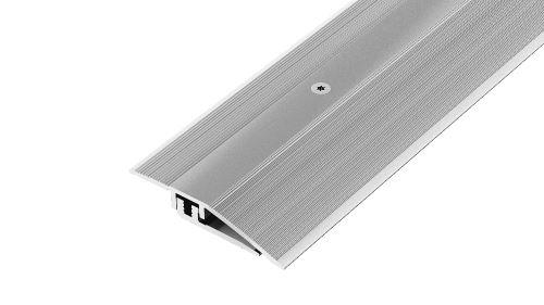 AP27/11 ukončovací lišta, vrtaná 2-dílná ACARA, hliník elox stříbro, 33 mm, 2,7 m