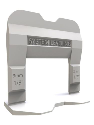 Nivelační klipsy síla 1mm 100ks balení 3-12mm výška